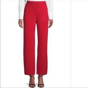 ST. JOHN COLLECTION- Red Santana Pants